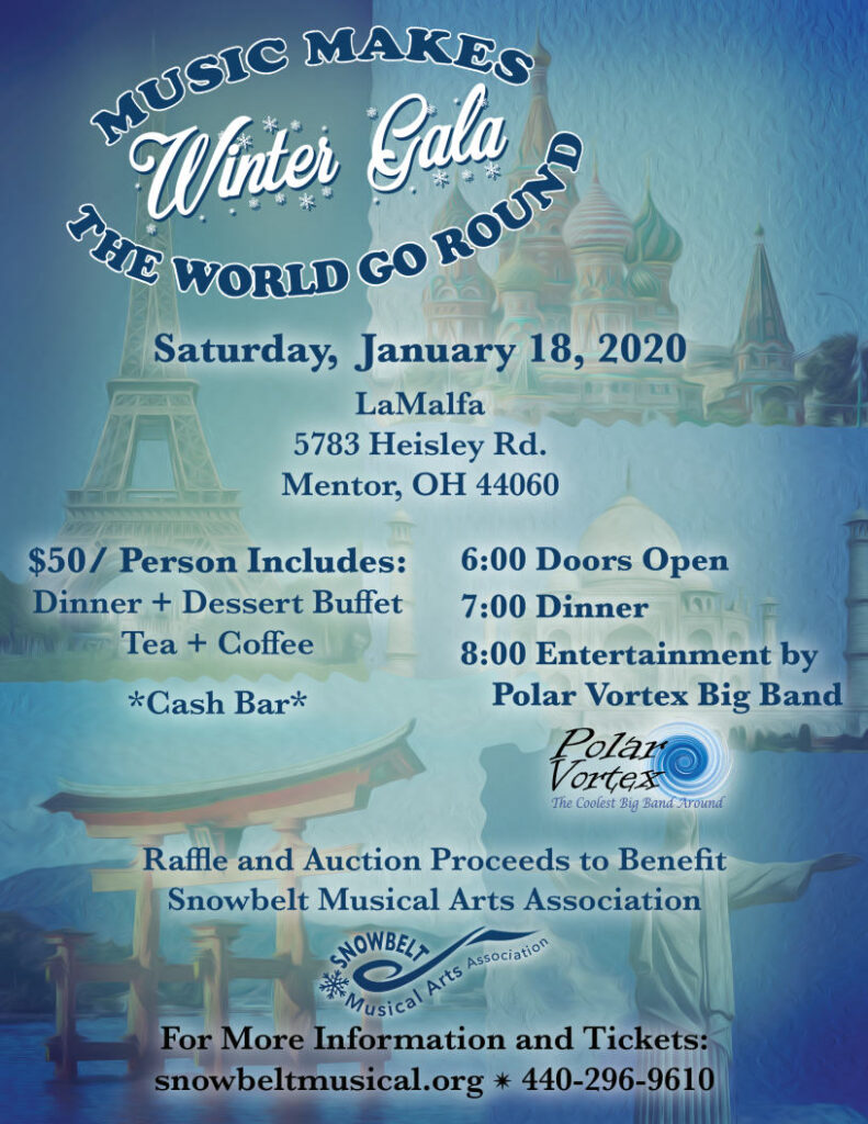 2020 Winter gala flyer