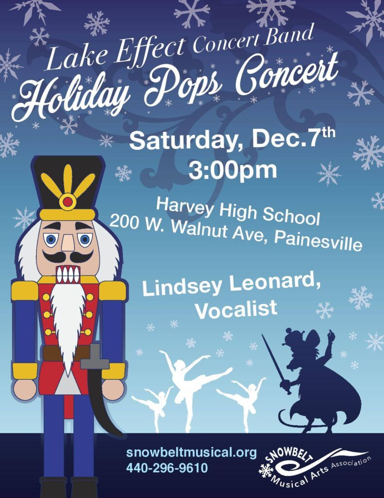 Concert poster for Holiday Pops
